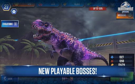Jurassic World The Game Apk Mod 1