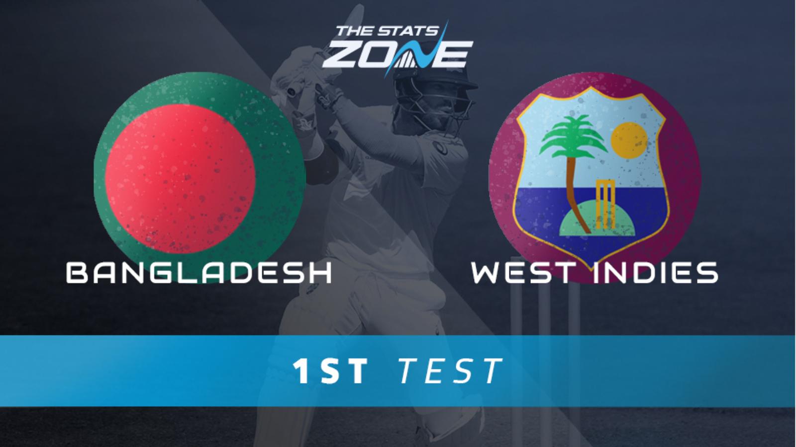 Bangladesh vs West Indies 1st Test 2021 Live Score