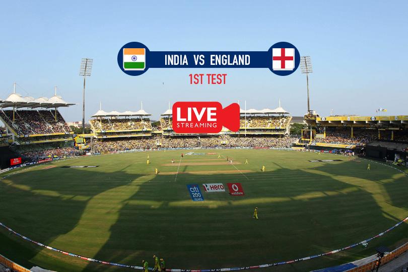 India vs England 2021 | 1st Test India v England 2021 | Live Score Streaming