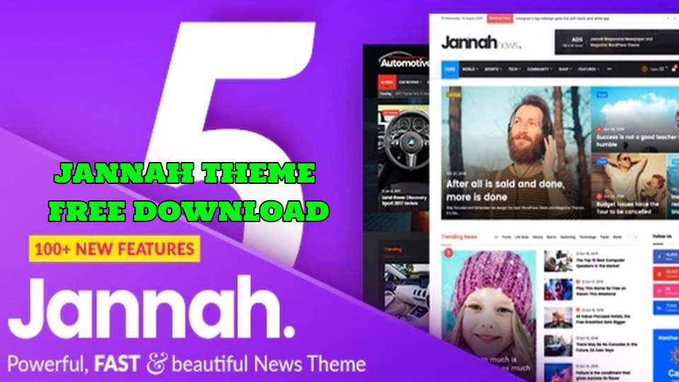 Jannah Theme Free Download