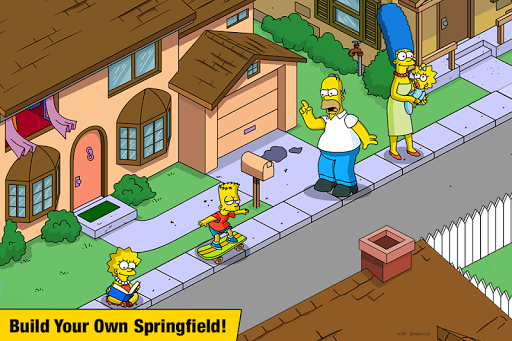 The Simpsons Tapped Out Mod Apk 1