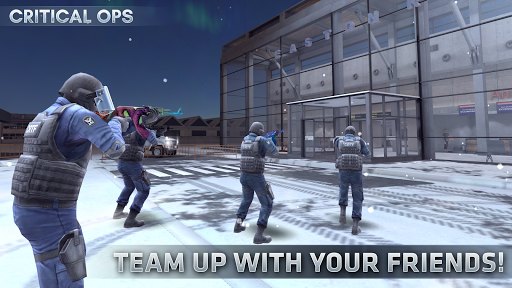 Critical Ops Online Multiplayer FPS Shooting Game Mod Apk 1