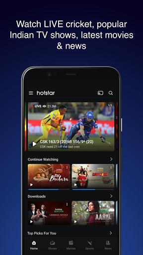 Hotstar – Live Cricket Movies TV Shows Mod Apk 1