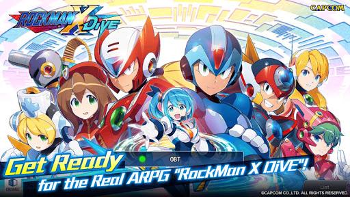 ROCKMAN X DiVE Mod Apk 1