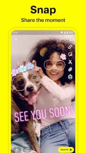 Snapchat Mod Apk Dark Theme
