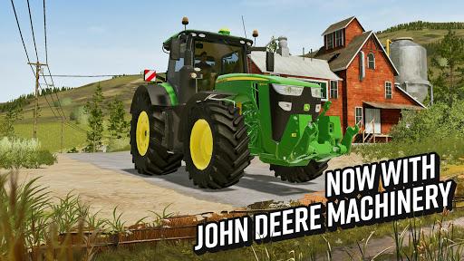Farming Simulator 20 Mod Apk Free shopping/Unlimited Money