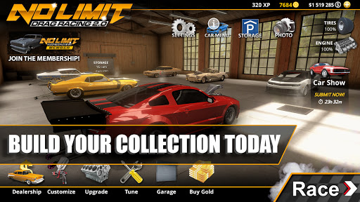 No Limit Drag Racing Mod Apk Unlimited Gold
