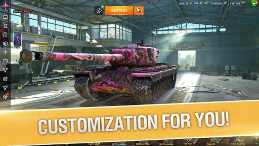 World of Tanks Blitz Apk Mod Unlock All Tanks/Unlimited Gold