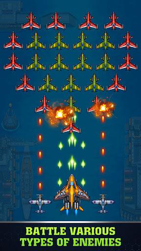 1945 Air Force Airplane games Mod Apk 1