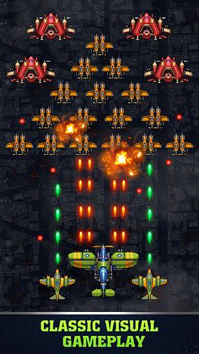 1945 Air Force Airplane games Mod Apk 2