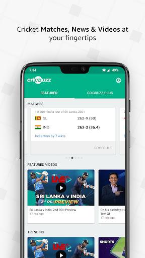 Cricbuzz – Live Cricket Scores amp News Apk Mod 1