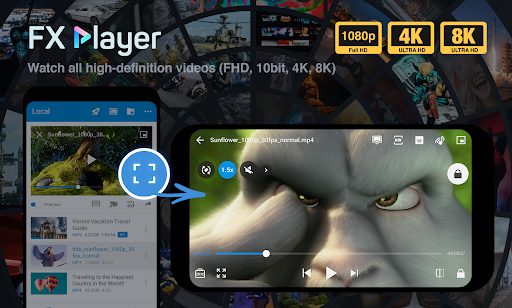 FX Player all-in-one video player Apk Mod 1