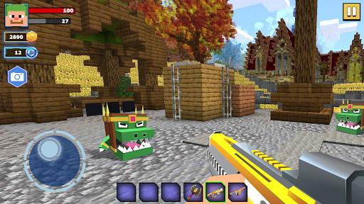 Fire Craft 3D Pixel World Apk Mod 1
