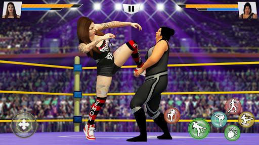 Bad Girls Wrestling Game GYM Women Fighting Games Mod Apk 2