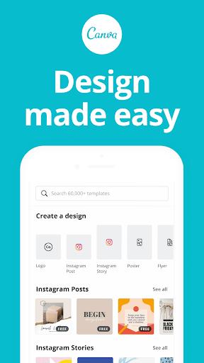 Canva Graphic Design Video Collage Logo Maker Mod Apk 1