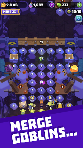 Gold and Goblins Idle Merger amp Mining Simulator Mod Apk 1