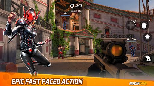 MaskGun – Online multiplayer FPS shooting gun game Mod Apk 1