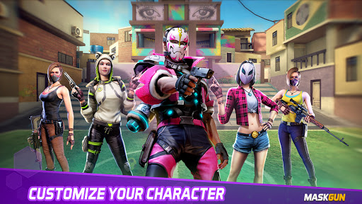 MaskGun – Online multiplayer FPS shooting gun game Mod Apk 2