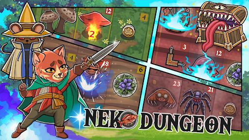 Neko Dungeon Puzzle RPG Mod Apk 1