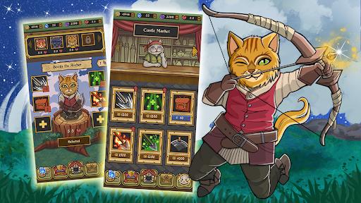 Neko Dungeon Puzzle RPG Mod Apk 2