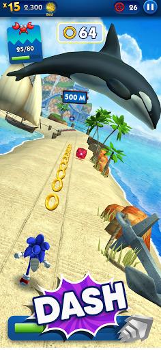 Sonic Dash – Endless Running Mod Apk 2
