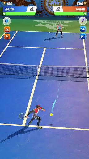 Tennis Clash 1v1 Free Online Sports Game Mod Apk 1