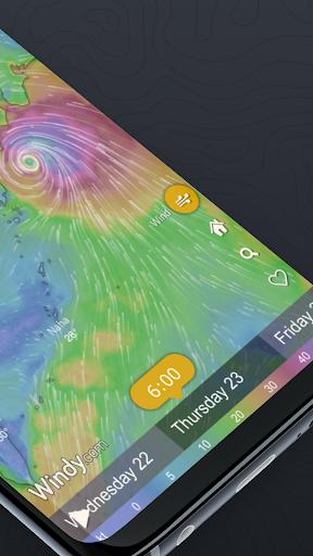 Windy.com – Weather Radar Satellite and Forecast Mod Apk 2