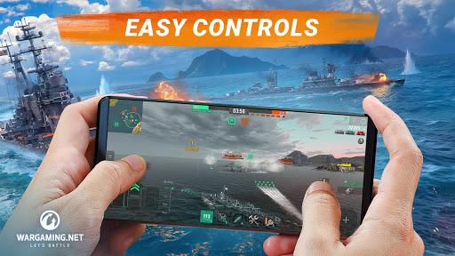 World of Warships Blitz Gunship Action War Game Mod Apk 1
