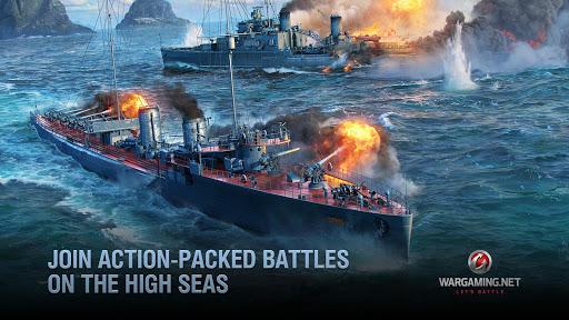 World of Warships Blitz Gunship Action War Game Mod Apk 2